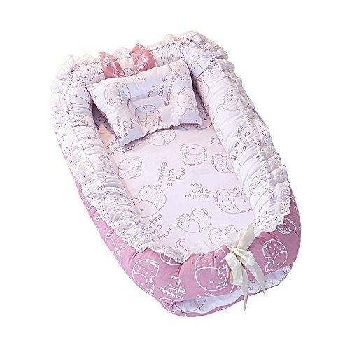 Nido de Bebé, T-MIX Cuna de Bebé Newborn 0-24 Months Cribs Regalo...