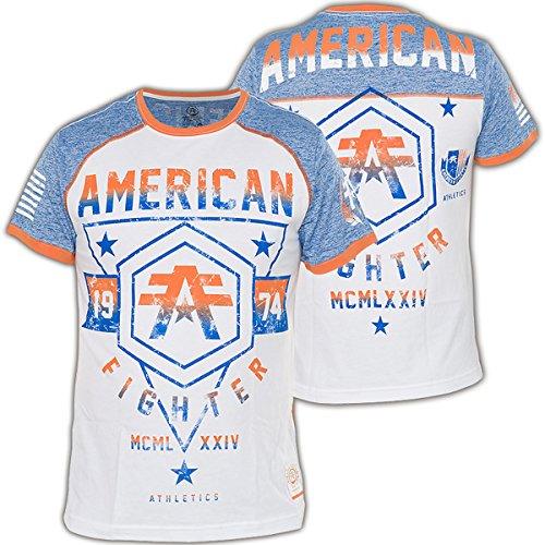 Das Oakland Grafik T Shirt der American Fighter Männer Blau