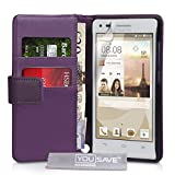 Yousave Accessories Huawei Ascend G6 Tasche (3G Modell Nur)