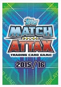 Topps Match Attax Carte 2015/2016 Sneak-Logo aperçu de la carte