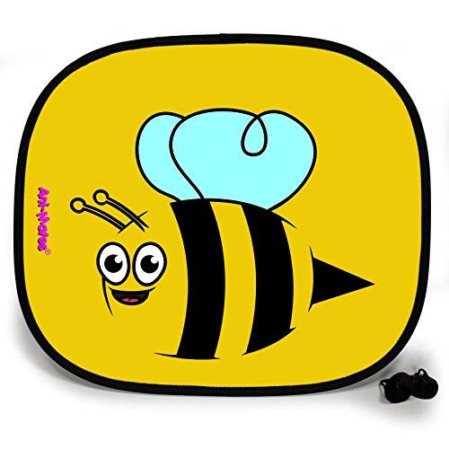 Bumble Bee Zubehör - 123T Sunshades Ani-Mates Auto-Sonnenblende Bumble Bee