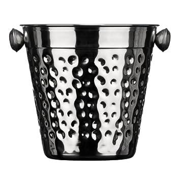 Premier Housewares Ice Bucket Hammered Stainless Steel 0