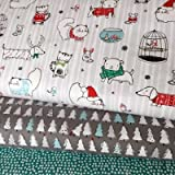 Weihnachten Stoff Bundle–Weihnachten Tier Tiere