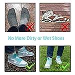 Blest-Guest-Copriscarpe-in-Silicone-impermeabile-scarpe-copertura-riutilizzabile-stivali-di-copriscarpe-antiscivolo-Pioggia-Stivali-scarpe-pioggia-scarpe