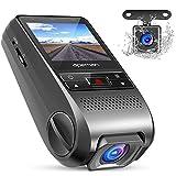 APEMAN Dash Cam Doppia Lente Telecamera per Auto 1080P Full HD Obiettivo Grandangolare di 170 Gradi...