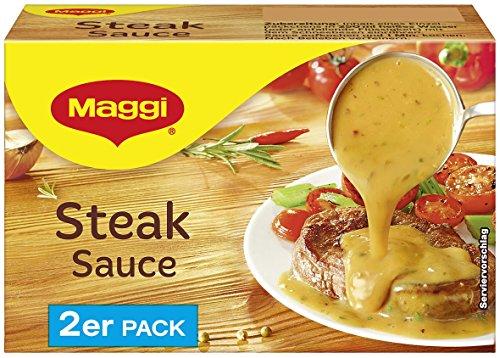 Maggi Delikatess Doppelpack Steaksoße, 18er Pack (18 x 500 ml)