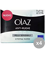 Set 4 OLAZ Anti-Rughe P.SENS.Notte 50 ML Gesichtspflege
