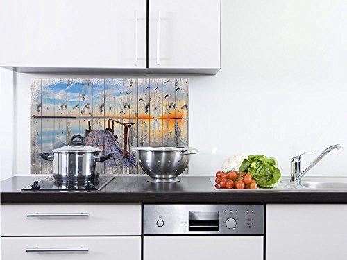 GRAZDesign 200261_60x40_SP Spritzschutz aus Glas für Herd | Küchen-Rückwand für Spüle | Natur Landschaft Glasbild aus 4mm ESG Echtglas (60x40cm)