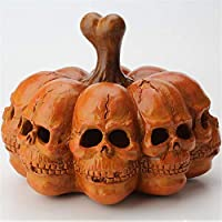 Mubaoyu Home Accessories Small Gift Model Halloween Skull Pumpkin Light Pumpkin Night Lights Decoration 18 X 14 X 13.8Cm