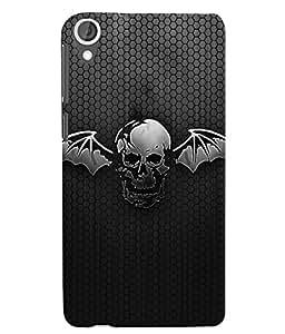 Citydreamz Batman/Skull Hard Polycarbonate Designer Back Case Cover For HTC Desire 728/HTC Desire 728G/HTC Desire 728 LTE/ HTC Desire Dual Sim