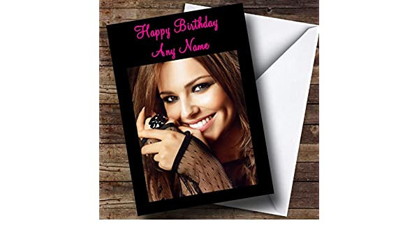 Personalised Cheryl Cole Smiling Birthday Card Amazoncouk – Cheryl Cole Birthday Card