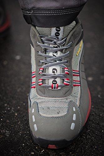 GOODYEAR g1383010C–Scarpe di sicurezza, linea sportiva, colore: grigio, grigio, G1383010C