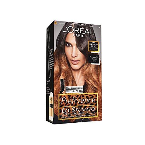 L'Oréal Paris Préférence Lo Sfumato, Colorazione Effetto Sfumato, Intenso 103 Castane e Brune