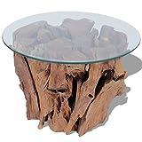 vidaXL Coffee Table End Side Solid Teak Driftwood - Best Reviews Guide
