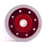 """Disco da taglio diamantato da 4,5"""" / 115 mm, super sottile, per sega, taglio piastrelle in gres porcellanato, 105 x 22,23 mm, 4"""", 200"""