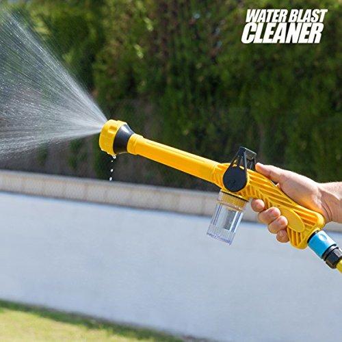 Hasëndad Water Blast Cleaner Pistola de Agua a Presión con Depósito, Amarillo, 41x15x5.5 cm