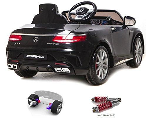 Kinder-Elektroauto Mercedes-Benz S63 AMG Cabriolet