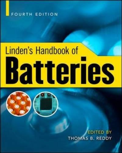 Linden's handbook of batteries por Thomas Reddy