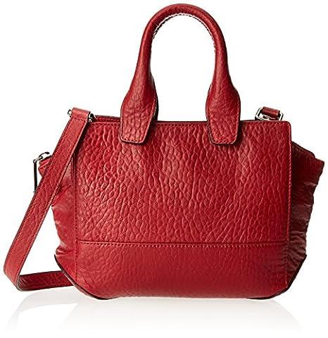 Kenneth Cole New York Sullivan ST Cross Body Bag, Chili, One Size