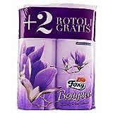 Foxy Carta Igienica Bouquet - Confezione da 6 Rotoli
