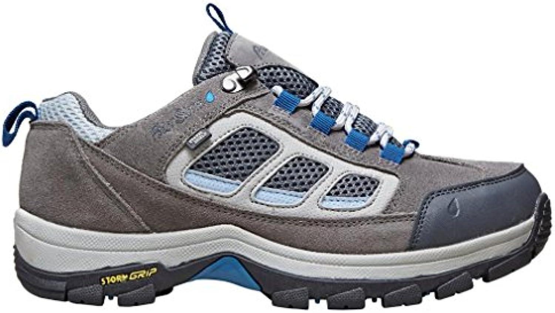 Peter Tormenta Womens Camborne Zapato Para Caminar bajo Zapato Para Calzado Para Exteriores Gris, Gris, 37