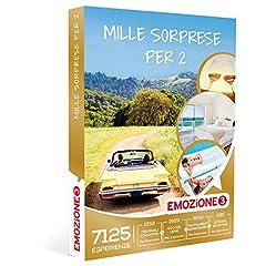 Idea Regalo - EMOZIONE3 - Cofanetto Regalo - MILLE SORPRESE PER 2 - 7125 soggiorni, cene, benessere e attività sportive a scelta