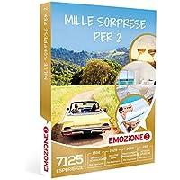 Emozione3 - Cofanetto Regalo - MILLE SORPRESE PER 2-7125 soggiorni, cene, benessere e attività sportive a scelta