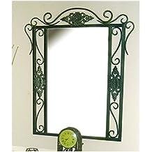 Espejo de forja Isabella - Verde