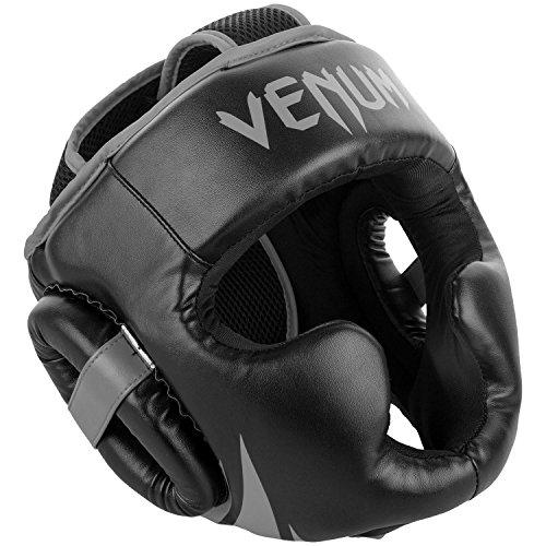 Venum Challenger Kopfschutz, Schwarz/Grau, One Size