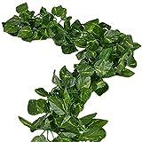 156 Fuß Fake Laub Girlande Blätter Dekoration Künstlicher Grün Efeu Reben Pflanzen für Haus Dekoration im Innen- und Außenbereich