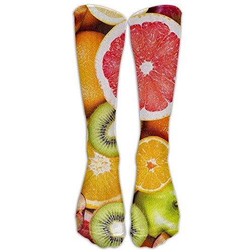 Daisylove Sportstrümpfe, Frisches Obst und Gemüse, für Damen und Herren, klassisch, kniehoch, Einheitsgröße