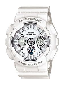 Reloj Casio G-SHOCK - digital de caballero de cuarzo con correa de resina blanca (alarma, cronómetro, luz) - sumergible a 200 metros de Casio