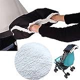 Frostschutzmitteln Baby Buggy Handschuhe Winter, wasserdicht Kinderwagen Hand Kinderwagen Kids Buggy Handschuhe frost-neutral Handschuhe 4.7