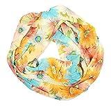 Diseño de rosas ManuMar Loop diseños de flores de paño nuevo! Bonitos colores! Bufanda suave de como el accesorio de verano! Diseño retro!