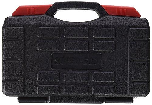 SuperEgo SEH000700 Jeu de douilles à clés avec cliquet Chromé - 46 pièces