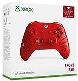 Manette sans fil Xbox Edition Spéciale - Sport Red