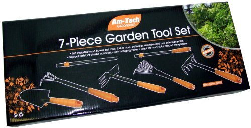 Am-Tech Garden Tool Kit (7 Pieces)