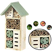 Heritage Fix On, casetta in legno da giardino per insetti, api e coccinelle, 2630, colore verde