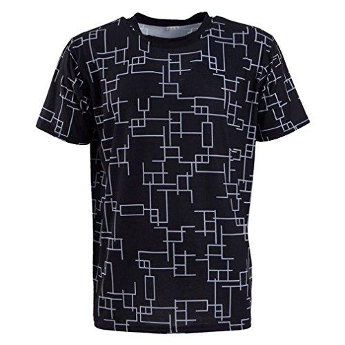 Qingningwenhua Unisex FF15 Dissidi PS4 Final Fantas Moogl T-Shirt Weste Cosplay Kostüme Schmuck Halskette Halsreif Ring Retro Kappe Hut Gerbutstag Geschenck (Prompt T-Shirt, Large)