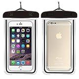 KUDOON Pochette Téléphone Étanche pour iPhone Sony Samsung HTC Huawei Universel...