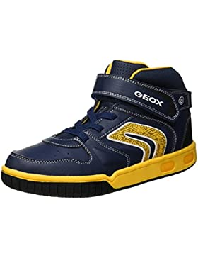 Geox Jr Gregg B, Zapatillas Altas para Niños