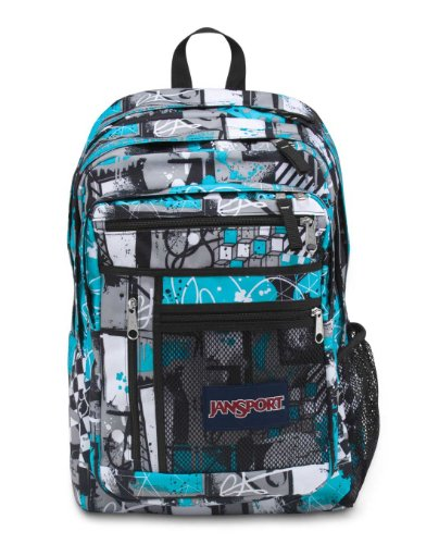 JanSport Run Around Rucksack, Herren, Mammoth BlueStreet Scene (Jansport Herren Rucksack)