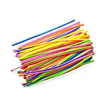 Trifycore 100pcs Assortiti Twisting Balloons Sostituzione Magica Palloncini Multi Uso Lattice Lunghi Palloncini per la Decorazione della Festa di Nozze Colore Misto