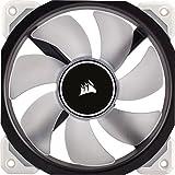 Corsair CO-9050041-WW ML Series ML120 Pro LED 120 mm Premium Magnetic Levitation LED Fan - White LED