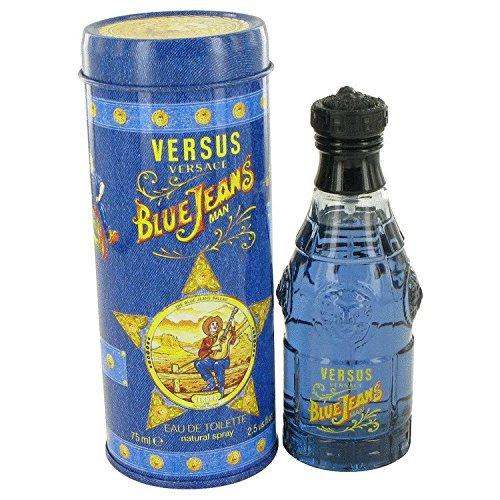 Versace - Blue Jeans pour Homme - Eau de Toilette - 75ml