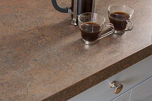 Kupfer - Resopal Küchenarbeitsplatten (3m × 600mm × 38mm)