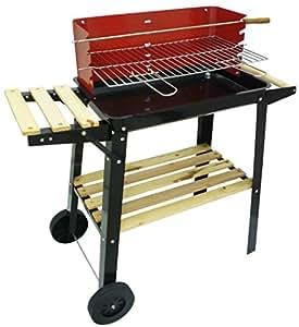 Barbecue a legna e carbonella in legno e metallo braciere portatile per campeggio BBQ