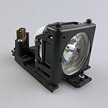 HFY marbull DT00707 L¨¢mpara de repuesto con carcasa para Hitachi CP-HS980/CP-HX990/CP-RS55/CP-RS55W/CP-RS56/CP-RS56+/CP-RS57/CP-RX60/CP-RX60Z/CP-RX61/CP-RX61+ proyector