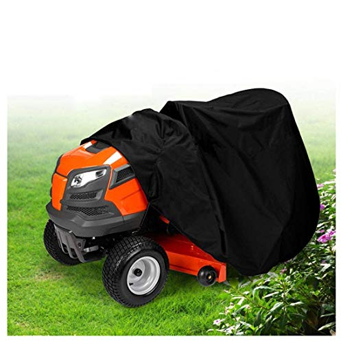 Funda para Cortacéspedes Funda para Cortacésped del Tractor Riding Cubierta Impermeable 182x111x116cm...