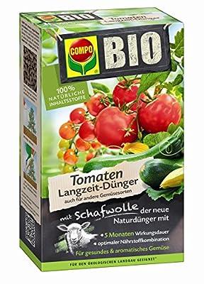 Compo 20297 Bio Tomaten Langzeit-Dünger mit Schafwolle, 750 g von Compo bei Du und dein Garten
